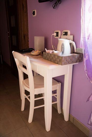 Camera violetta - Tisane per andare in bagno ...